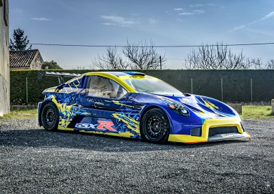 Déco Speed car GTR découpe et covering