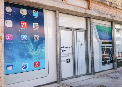 Vitrine Apple Ip Store