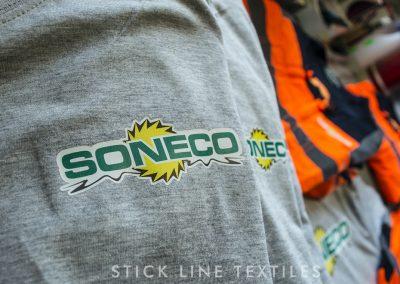 Flocage impression Soneco