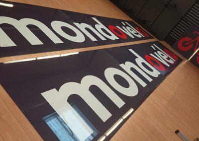 Enseignes et panneaux MONDO Vélo